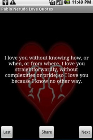 Description for Love Quotes Pablo Neruda