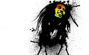 Bob Marley Splatter