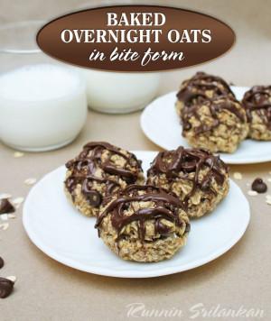 Overnight Baked Oat Bites (Gluten Free)
