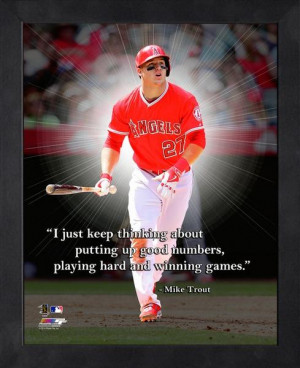 Mike Trout 2014 Action; Mike Trout photos, Mike Trout collectibles and ...