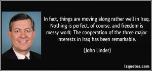 More John Linder Quotes