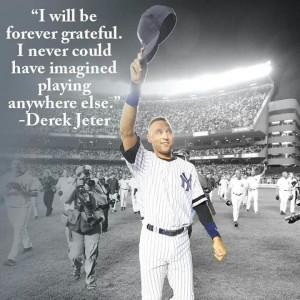 Farewell Jeter