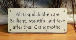 Grandchildren Are Brilliant…..