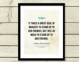 ... Friends Quote / Graduation Gift / Kids Room Wall Decor Harry Potter