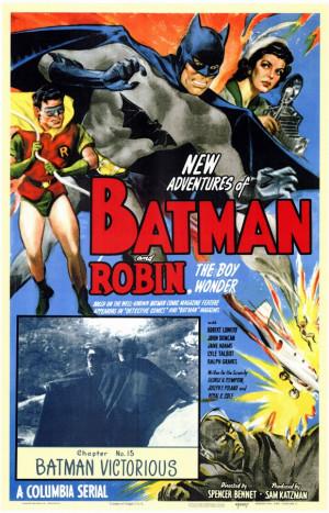 Batman And Robin 1949 Movie