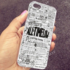 All Time Low Quotes Art iPhone Case and Samsung Galaxy Case # ...