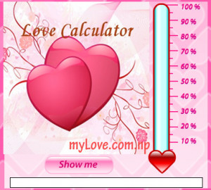 Calculate your love, love calculator online, your partner love ...