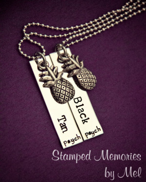 ... Steel with Pineapple Charms - Shawn and Gus Quotes - Best Friends