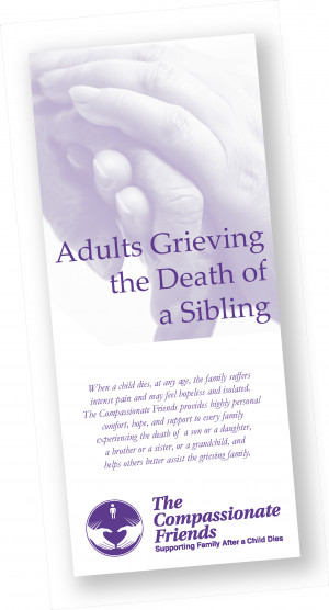 Adults Grieving the Death of a Sibling