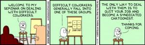 Photo: Dilbert cartoon. Credit: Scott Adams, www.dilbert.com; Top ...