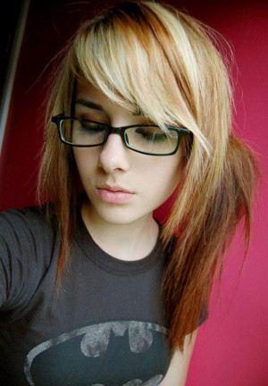 Nerdy Fashion Glasess Girl
