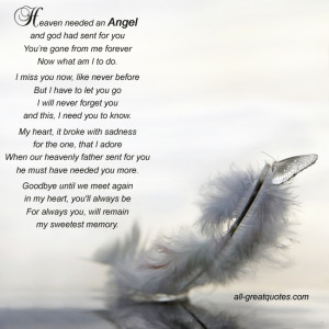 This entry was posted in Memorial Cards - All , Memorial Cards - Poems ...