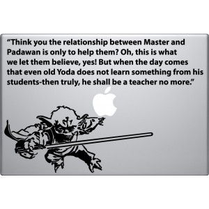Master Yoda with Quote