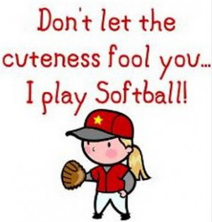 cute softball quotes tumblr