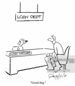 Loan Officer Cartoon
