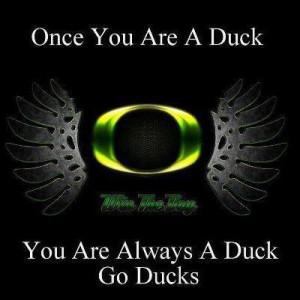 Once A Duck #GoDucks #WTD