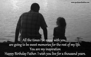 happy birthday to my husband and father quotes