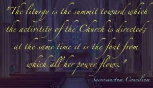 Sacraments at St. Peter's