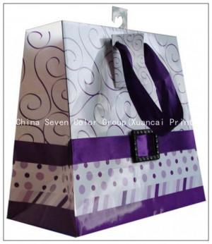 new design bag recycle kraft paper bag shopping bag