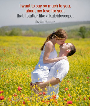 How deep I love you . This emotion is shown by picture quote where ...