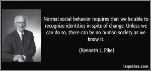 Normal social behavior requires that we be able to recognize ...