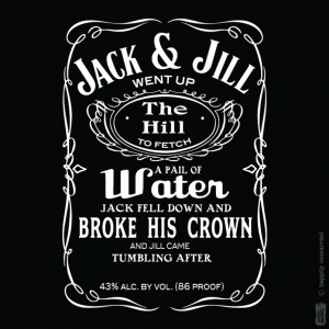 jack n jill t shirt for lovers of jack d and not jazzy b if all ...