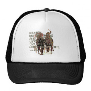 Will Rogers Horse Racing Quote Mesh Hats