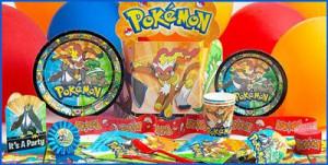 Pokemon Birthday Supplies