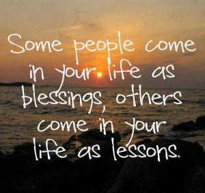 Blessings. How true ;-)