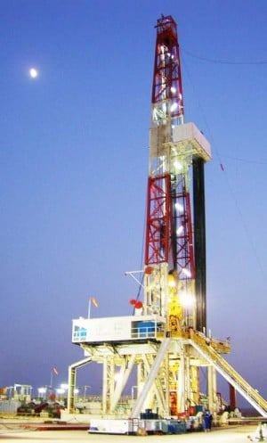 Drilling Rig Important Oil