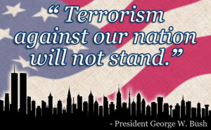 Terrorism against our nation ...