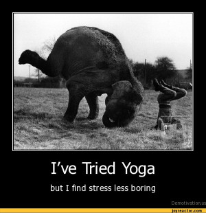 details i ve tried yoga but i find stress less boring i ve tried yoga ...