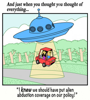 Creative Commons Cartoon | Have You Considered Alien Abduction?
