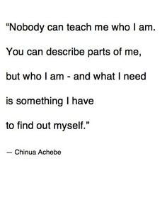 chinua achebe. More
