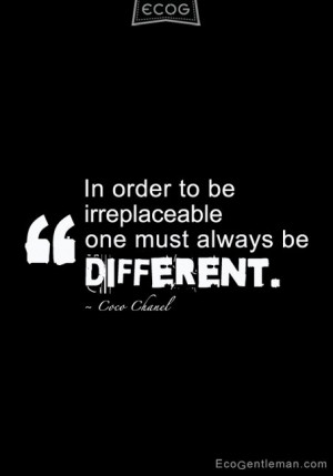 Back > Quotes For > Being Different Quotes