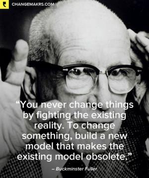Buckminster Fuller, change