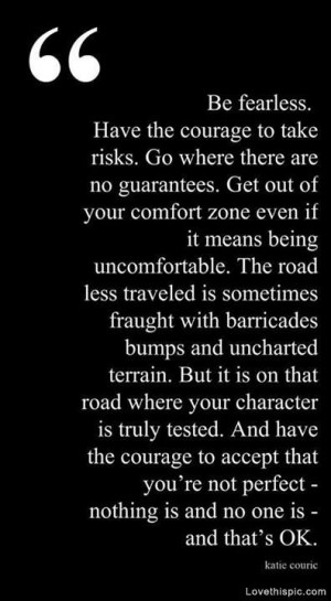 be fearless # quotes # inspirational