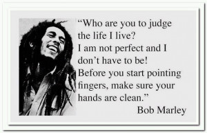 Bob Marley Friendship Quotes Wallpaper