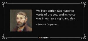 Edward Carpenter Quotes