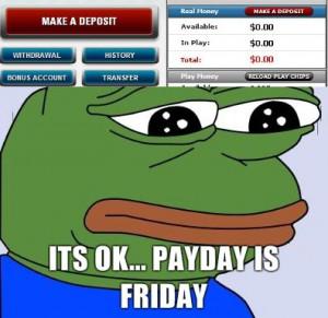ITT sad frog is sad