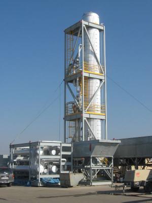 Modular Refinery Plant View