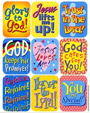 Inspirational Sayings Giant Stickers