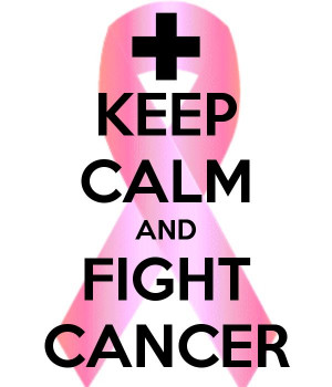 Never stop fighting against cancer