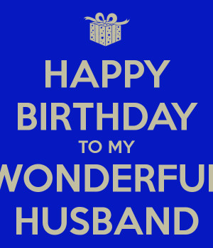 HAPPY BIRTHDAY TO MY WONDERFUL