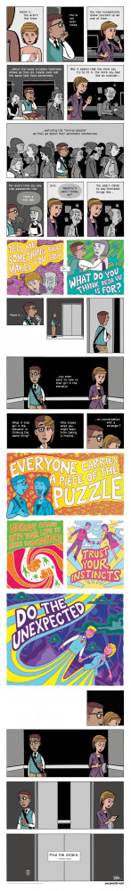 Timothy Leary quote on Zen Pencils