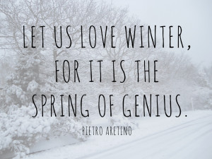 More Quotes Pictures Under: Winter Quotes