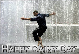 happy rainy day scraps for facebook