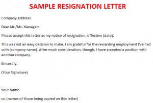 professional resignation letter resignation letter reason for  professional resignation letter resignation letter reason for leaving