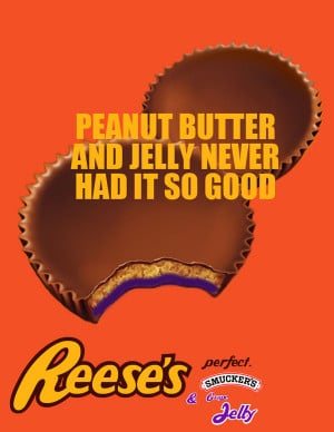 Reese's Peanut Butter Cup & Jelly