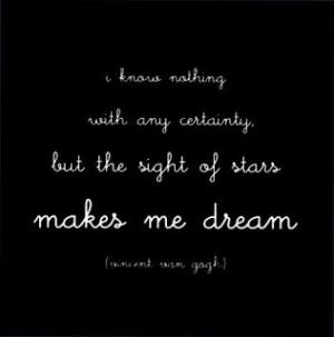 dream,stars,quotes,van,gogh,card,quote ...